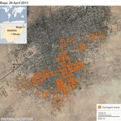 Human Rights Watch uses Satellite images to document Nigeria army abuse in Basra