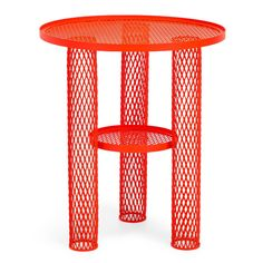 Net Side Table Red by Moroso on Clippings.com