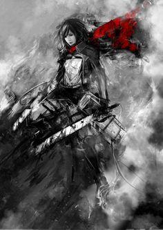 Mikasa Ackerman by *muju on deviantART