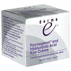 Derma E Natural Body Care Hyaluronic  Pycnogenol Eye Creme ** Click image to review more details.