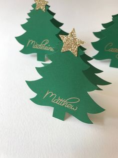 icu ~ Pin on Products ~ Christmas Place Cards, Christmas Tree Place Cards, Santa Hat Place Cards, Christmas Decor, Christmas Christmas Place Cards, Christmas Names, Christmas Table Settings, Christmas Tablescapes, Christmas Tag, Homemade Christmas, Christmas 2019, Christmas Crafts, Christmas Ornaments