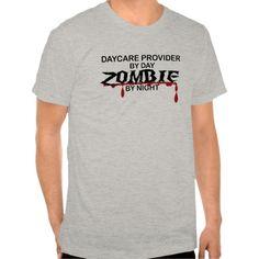 Daycare Provider Zombie T Shirt, Hoodie Sweatshirt