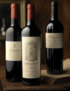 Arcanum Wine Package Design by Pate International Wine Bottle Design, Wine Label Design, Sweet Italian Wine, Wine Bottle Crafts, Wine Bottles, Wine Chart, Wine Photography, Wine Guide, Wine Brands