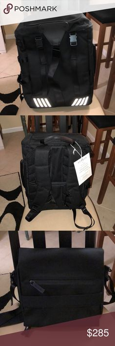 Venque Transformer A Venque Transformer A bag. New, never used. Details are in the link.   https://www.venque.com/collections/backpacks/products/transformer-a-black-1 Venque Bags Backpacks