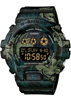 G-Shock GMDS-6900F-1 S Series Floral Black