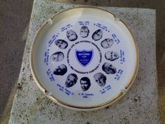 Ashtray National Life Accident Insurance US Presidents Campaign Ashtray Vtg 1982