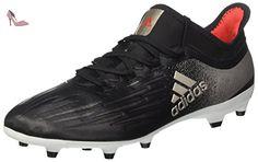 adidas Performance Messi15.1 FG/AG, Chaussures de Football Compétition Homme - Blanc - Weiß (FTWR White/Prime Blue S12/Core Black), 46 2/3 EU