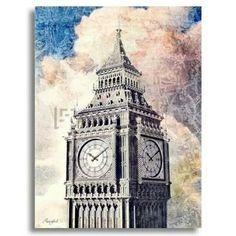 Distressed London by Vision Studio  Available at www.museartz.com  #art #artdubai #decor #wallart #mydubai #canvas #interiors #design #dubaidesign #artonline #artprints