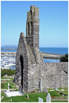 St. Mary's Abbey Ruins and the Harbour, Howth ~ Dublin, Ireland