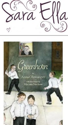 Young adult author Sara Ella reviews & discusses Anna Olswanger's GREENHORN @ http://balkinbuddies.tumblr.com/post/157615693412/young-adult-author-sara-ella-reviews-and-discusses