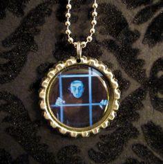 Nosferatu Bottle Cap Necklace or Keychain NOS by AdAstraEmporium, $6.00