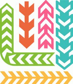View Design: 6 chevron borders
