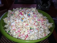 Katherine in the Kitchen: Quick, Easy, Healthy Recipes: Birthday Cake Popcorn