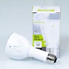 Ascella Rechargeable LED Light Bulb