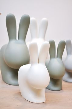 Qeeboo 'Rabbit Chairs' by Stefano Giovannoni — available at Corifeo Brasschaat— www.corifeo.be