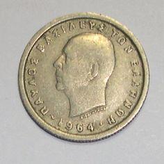 1974 Greece 50 Lepta Coin