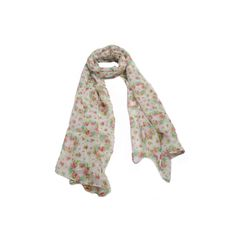 Echarpe Petit Poá Floral Cinza em tecido 100% algodão com estampa mini flores nas cores rosa, verde e branco.  #echarpe #echarpes #lenços #lenço #moda #modafeminina #acessórios #acessóriosfemininos #scarf #scarfs #fashion #womensfashion #femalleacessories