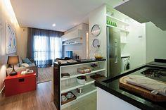 Cozinhas pequenas e planejadas #hogarhabitissimo #cozinhas