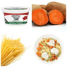 Spaghetti With Sweet Potatoes and Ricotta