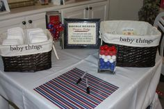 Hostess with the Mostess® - Boys Slugger Baby Shower
