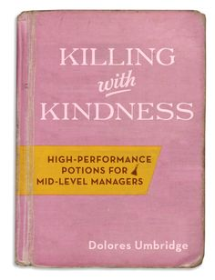 killing with kindness #book #pink