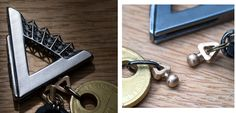 UK Product Designer Reimagines the Keychain Using 3D Modeling & Printing http://3dprint.com/52840/3d-printed-redesigned-keychain/