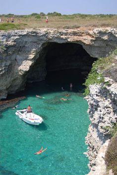 Spiaggia Baia dei Turchi Il mare di Otranto