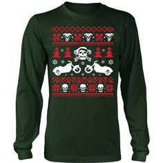 Ugly Biker Sweater T-Shirt/Hoodie/Long sleeves/V-Neck Made just for you!  Visit us: http://teeamazing.co
