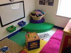 toddler reading area!
