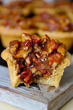 Pecan Pie Bites Recipe ~ Fabulous! Lots of step-by-step photos.
