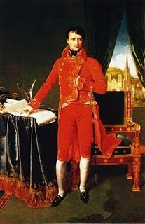 Napoleon Bonaparte in the Uniform of the First Consul  Jean Auguste Dominque Ingres, 1804
