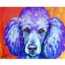 Image result for poodle Art