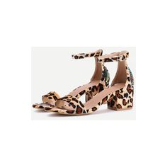 Dragonfly And Pineapple Embroidery Leopard Sandals (44 CAD) ❤ liked on Polyvore featuring shoes, sandals, leopard print sandals, embroidered sandals, leopard shoes, pineapple print shoes and pineapple shoes