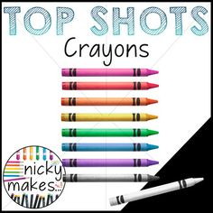 This download contains 9 crayon TOP SHOTS. This product also belongs to the TOP SHOTS: School Supplies BUNDLE. Bundle them and save!*TOP SHOTS are .png images sans background created from my own macro photography, never third party stock photography, and edited in Photoshop to include realistic and whimsical colors, and proper lighting.
