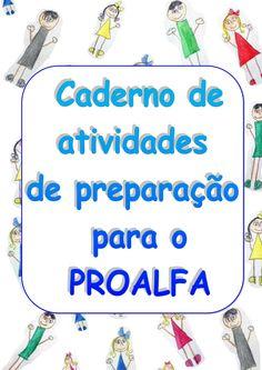 Caderno de atividades de preparação para o PROALFA 2017