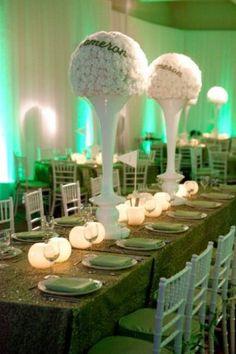mitzvahmarket.com golf themed mitzvah. Brad Austin Imaginative Florals in LA & Cooperu0027s 1st Birthday Golf Par-Tee | Pinterest | Themed parties ...