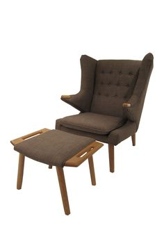 Yogi Brown Chair & Ottoman Set on @HauteLook