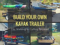 Learn how you can build your own kayak trailer using Kee Klamp fittings and pipe. There's no welding, cutting or prior building experience required.