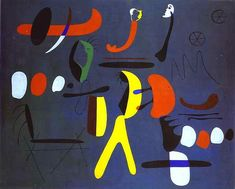 Joan Miro Most Famous Painting | Painting by Joan Miró on friends-of-art.net