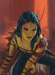 GUARDIANS OF THE GALAXY VOL. 2 Concept Art Reveals Andy Park's Different Take On Star-Lord And Mantis