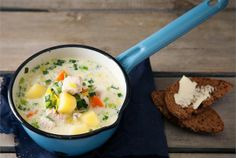 Cheeseburger Chowder, Food And Drink, Soup, Traditional, Soups, Chowder