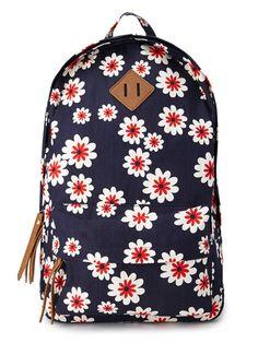 Sweet Floral Canvas Backpack, $24.80, forever21.com   - Seventeen.com