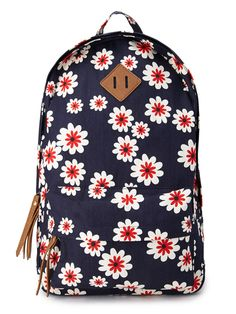 Sweet Floral Canvas Backpack, $24.80, forever21.com   - Seventeen.com