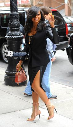 Taraji P. Henson, I absolutely love her!!! And that hair is flawless and flowing!!