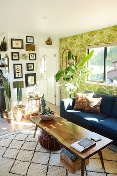House Tour: A Recently Renovated, Jungle-Inspired Home | Apartment Therapy