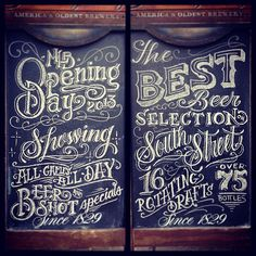 Mixed typography & lettering inspiration   From up North