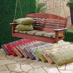 Outdoor Porch Swing Cushions Home Furniture Design