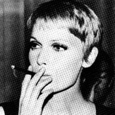 Mia Farrow. Amazing actress and beautiful woman. If only I could pull off that haircut...