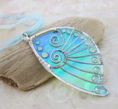 Sihaya Designs Faery Wing Necklace - The Lady of the Lake
