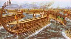 Битва при Саламине (П. Коннолли)